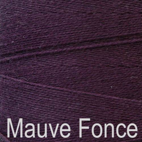 Maurice Brassard Cotton Weaving Yarn Ne 8/2 Mauve Fonce 4273