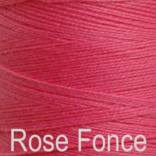 Maurice Brassard Cotton Weaving Yarn Ne 8/2 Rose Fonce 1330