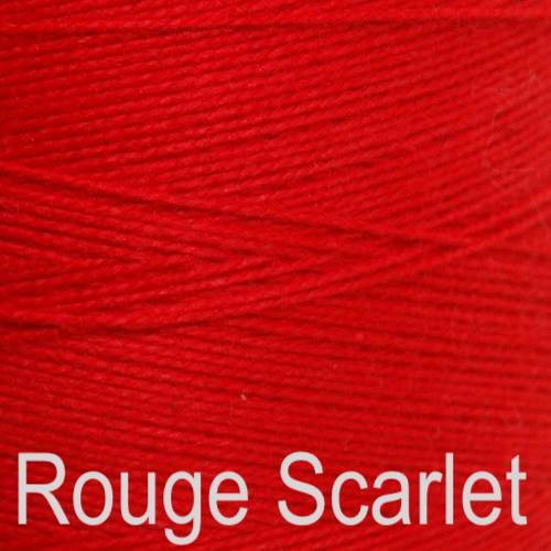 Maurice Brassard Cotton Weaving Yarn Ne 8/2 Rouge Scarlet 5116