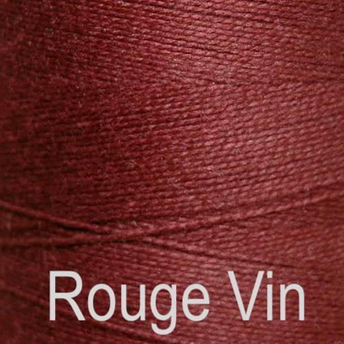 Maurice Brassard Cotton Weaving Yarn Ne 8/2 Rouge Vin 5115