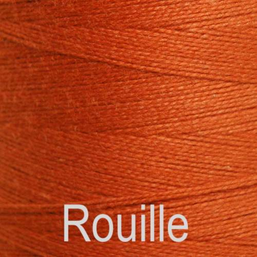 Maurice Brassard Cotton Weaving Yarn Ne 8/2 Rouille 1316