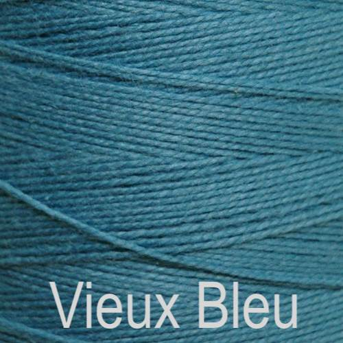 Maurice Brassard Cotton Weaving Yarn Ne 8/2 Vieux Bleu 84