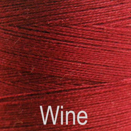 Maurice Brassard Cotton Weaving Yarn Ne 8/2 Wine 8264