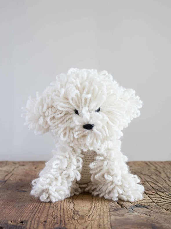 Myra the Bichon Frise Crochet Kit - TOFT