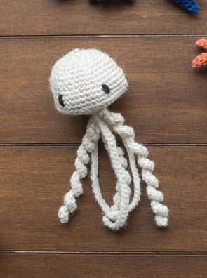 Mike the Jellyfish Mini Crochet Kit - TOFT