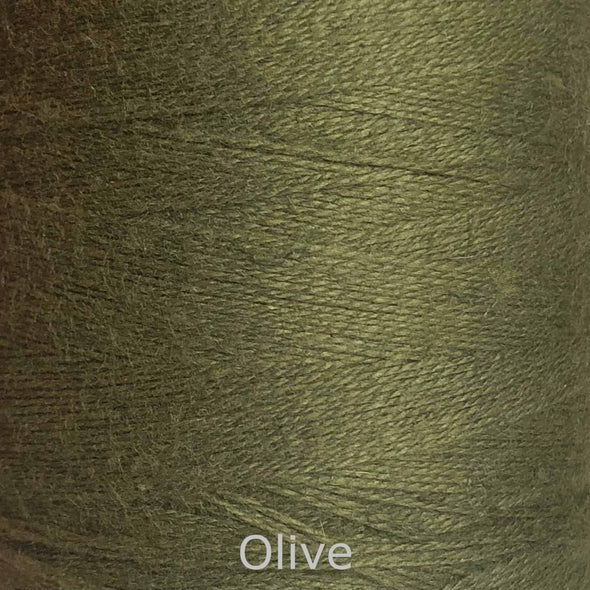 16/2 cotton weaving yarn olive