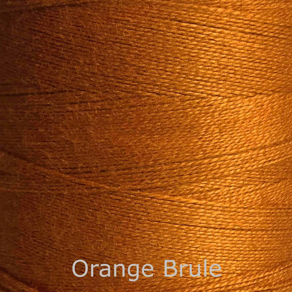 16/2 cotton weaving yarn orange brulee