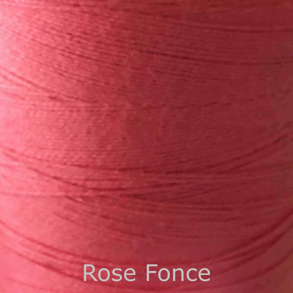 16/2 cotton weaving yarn rose fonce