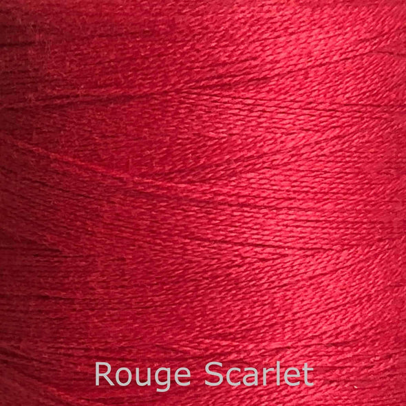 16/2 cotton weaving yarn rouge scarlet
