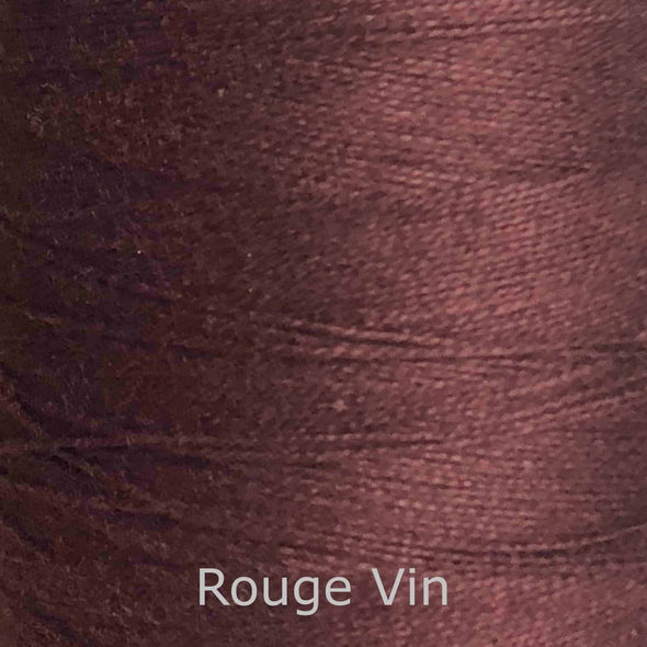 16/2 cotton weaving yarn rouge vin