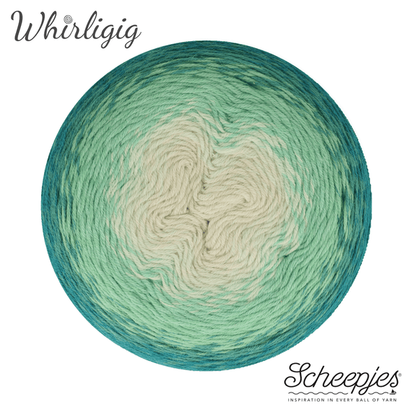 Scheepjes Whirligig Teal to Ombre