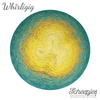Scheepjes Whirligig Teal to Yellow