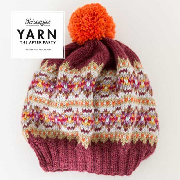 Scheepjes Autumn Bobble Hat flat