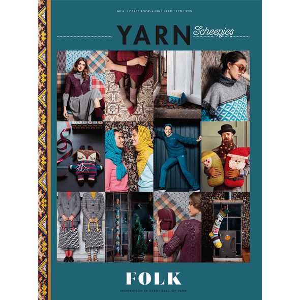 Scheepjes YARN - Folk Pattern Book
