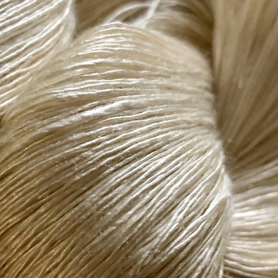 Single-ply-mulberry-silk-yarn-swiss-mountain-silk-Thread-Collective-Australia