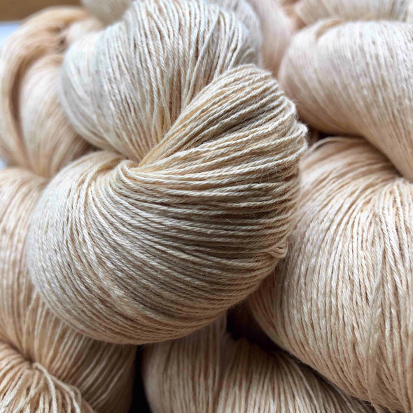 Soy Cotton Yarn skeins