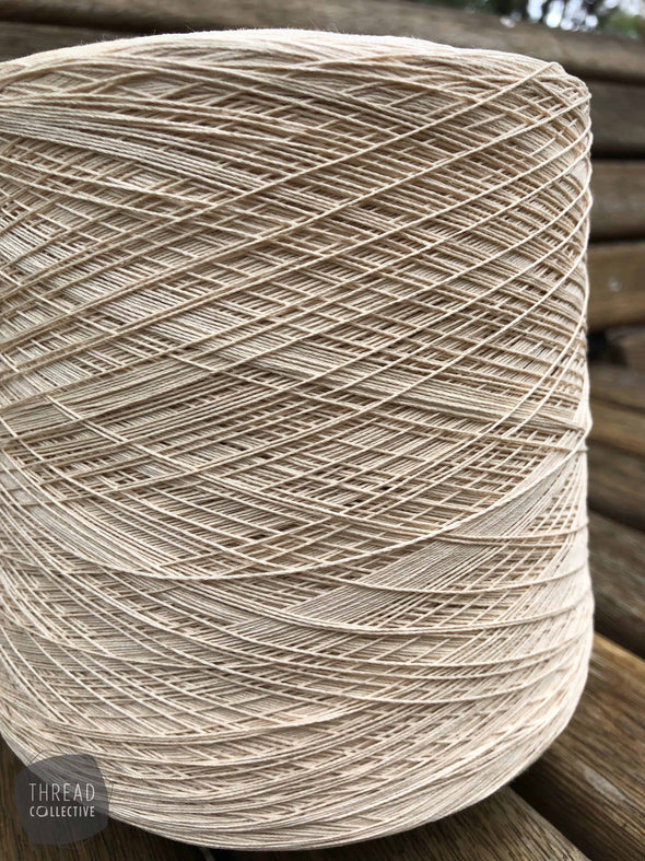 Suvin Cotton (Ne 12/2 equivalent), Yarn, Thread Collective,- Weaving, Thread Collective, Brisbane, Australia
