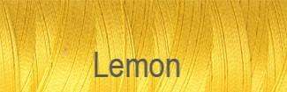 Venne Mercerised Cotton Ne 20/2 Lemon 7-1004
