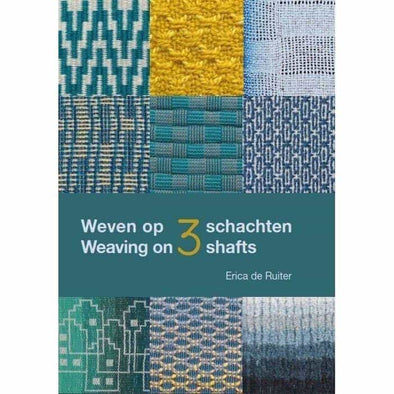 Weaving on Three Shafts by Erica de Ruiter