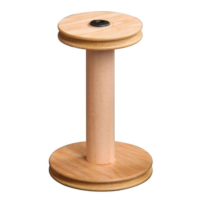Ashford standard bobbins with a natural or lacquered finish for spinning wheels