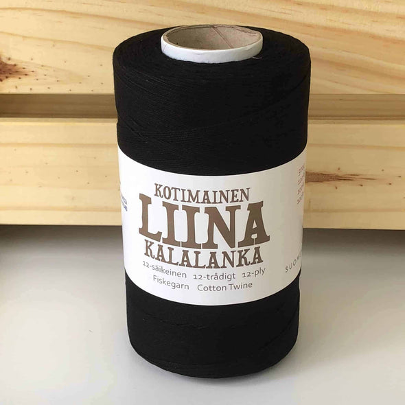 Liina-Suomen-Lanka-Cotton-Twine-Black