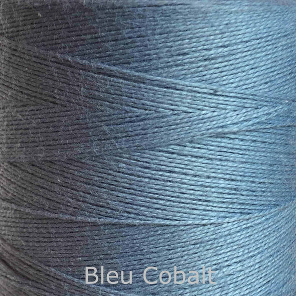 16/2 cotton weaving yarn blue cobalt