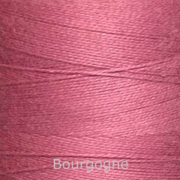 16/2 cotton weaving yarn bourgogne