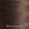 16/2 cotton weaving yarn brun chocolate