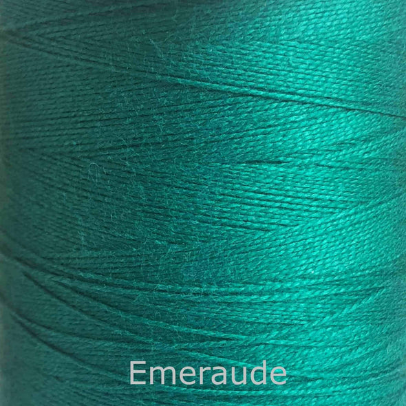 16/2 cotton weaving yarn emerald