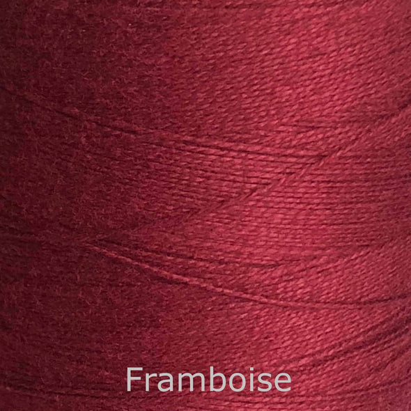 16/2 cotton weaving yarn framboise