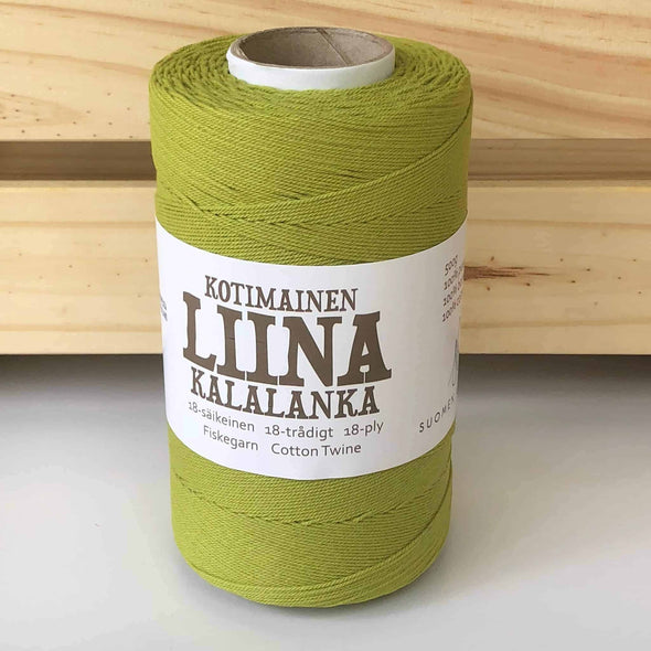 Liina-Suomen-Lanka-Cotton-Twine-Green