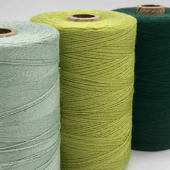 Maurice-Brassard-Bamboo-Weaving-Yarn-Greens
