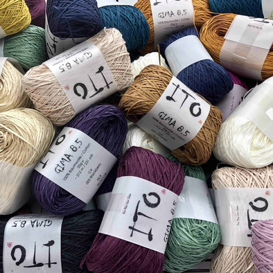 ITO Gima 8.5 Cotton Yarn Pacific Gima 019