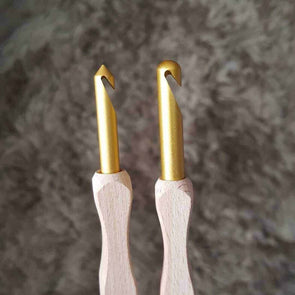 Kollage Square Crochet Hooks - Pointed or Rounded