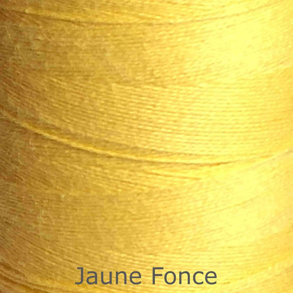 16/2 cotton weaving yarn jaune fonce