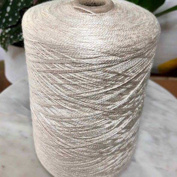 Thick 100% Lavender Yarn cone