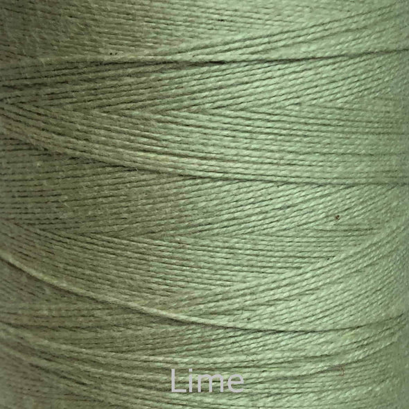 16/2 cotton weaving yarn lime