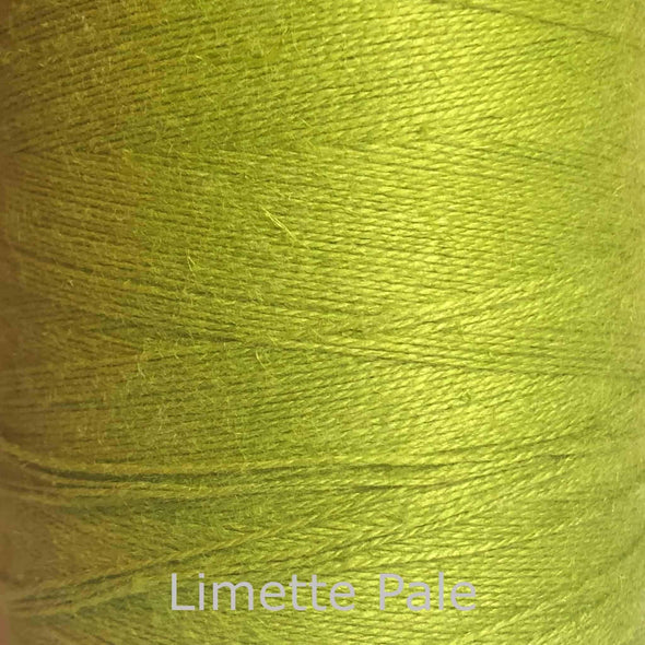 16/2 cotton weaving yarn limette pale