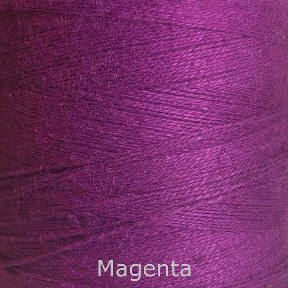 16/2 cotton weaving yarn magenta