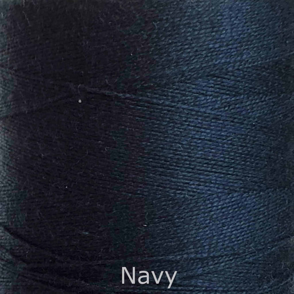 16/2 cotton weaving yarn navy