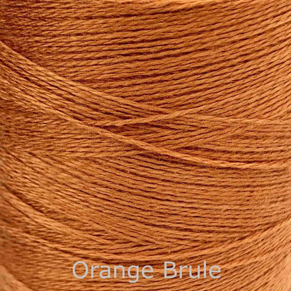 Maurice-Brassard-Bamboo-8/2-Weaving-yarn-orange-brule