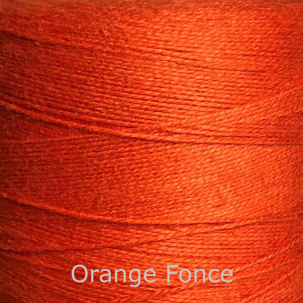 16/2 cotton weaving yarn orange fince