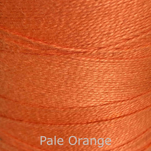 16/2 cotton weaving yarn orange pale