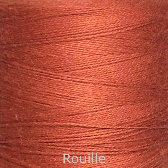 16/2 cotton weaving yarn rouille