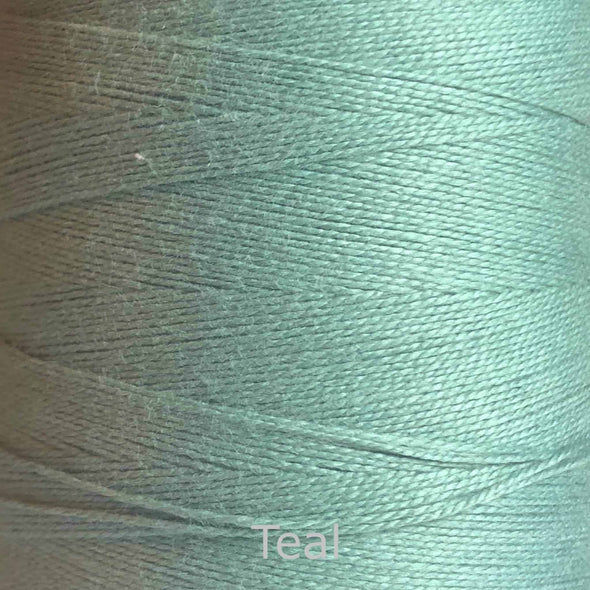 16/2 cotton weaving yarn teal