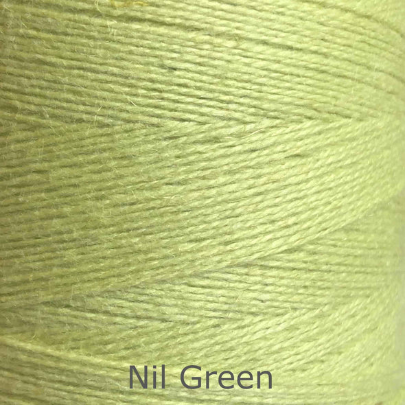 16/2 cotton weaving yarn nil green