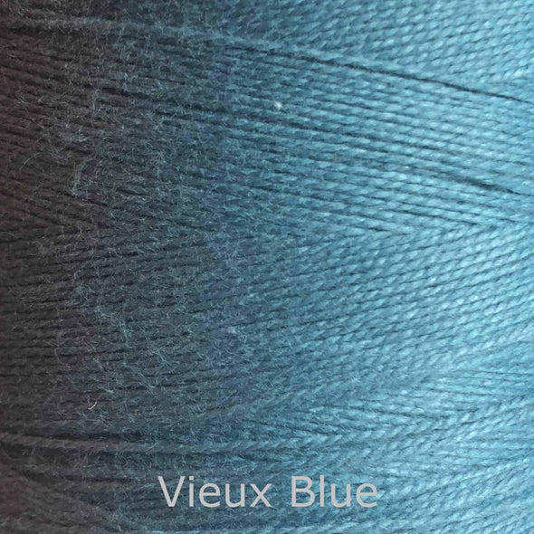 16/2 cotton weaving yarn vieux blue