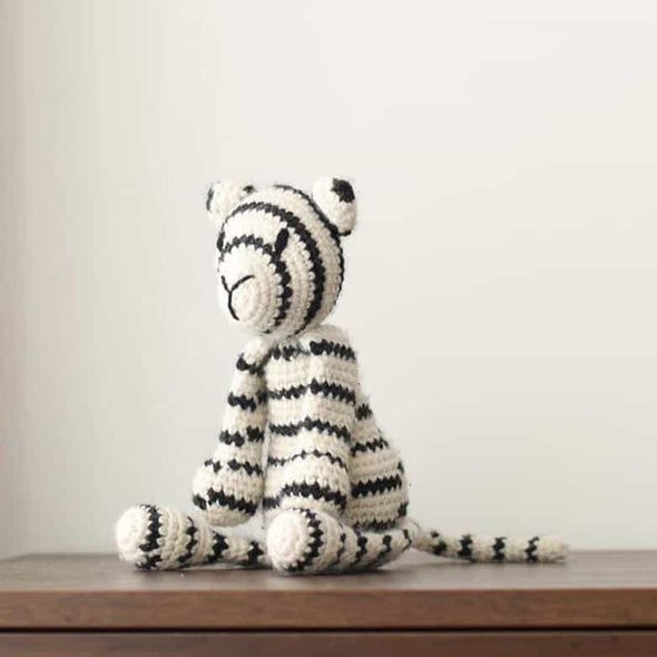 TOFT Prince the White Tiger Toy