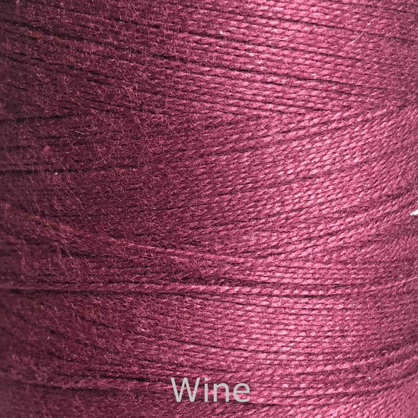 16/2 cotton weaving yarn wine
