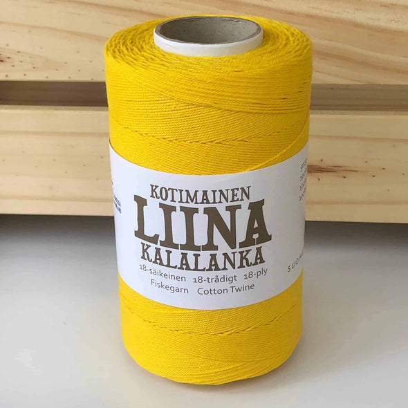 Liina-Suomen-Lanka-Cotton-Twine-Yellow